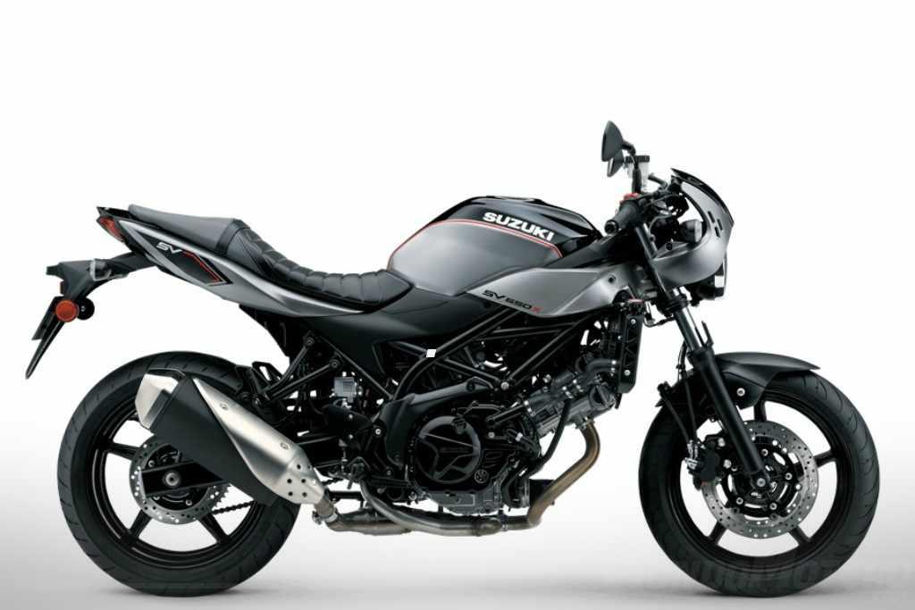 Novedades motos cafe racer Suzuki SV650X