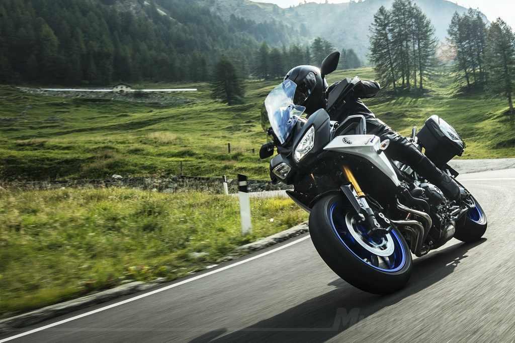 Novedades Motos Trail Yamaha Tracer 900GT 2018