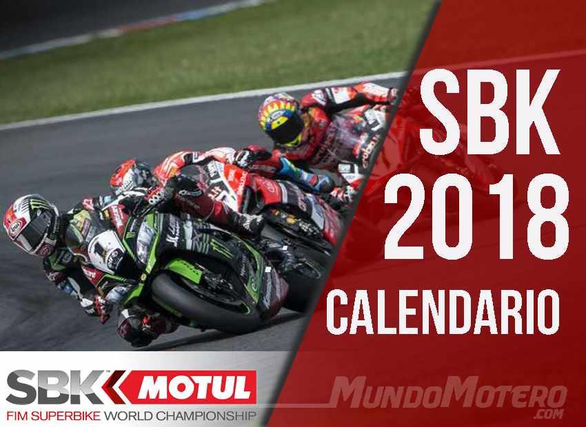 Calendario SBK 2018