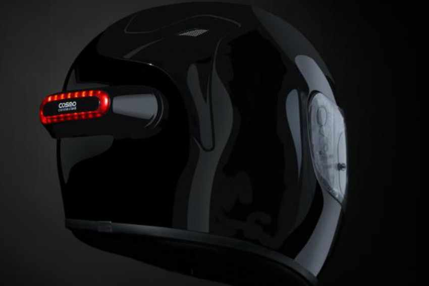 Cosmo Connected - Luz de freno casco de moto