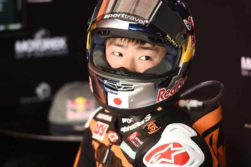 Ayumu Sasaki Moto3 2017
