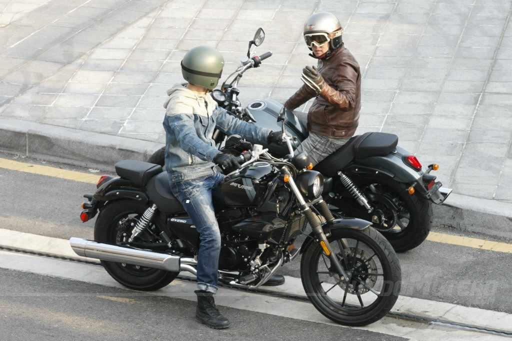 Novedades motos Hyosung Aquila 250 DR