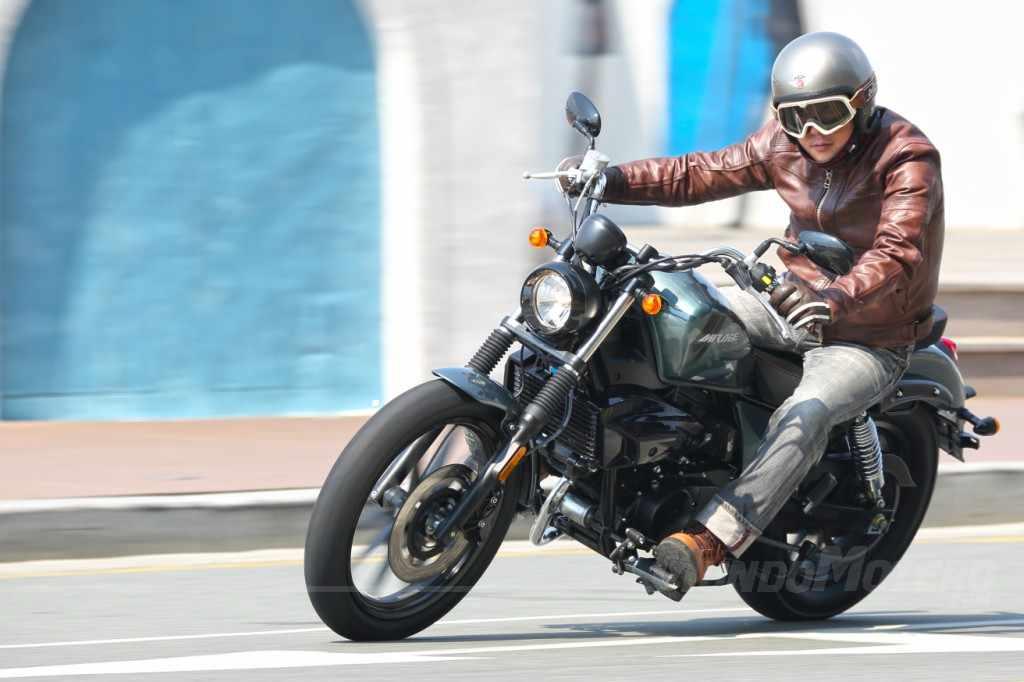 Novedades motos custom Hyosung Aquila 250 DR