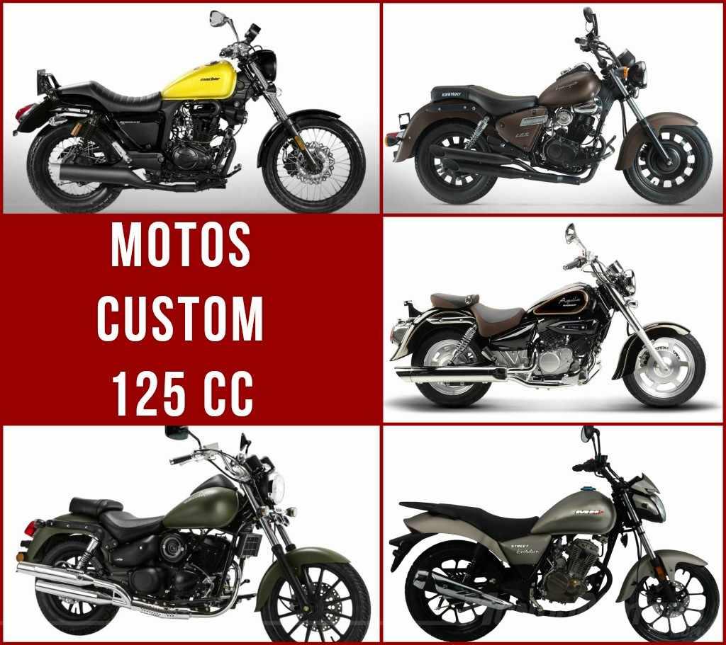 Motos Custom 125