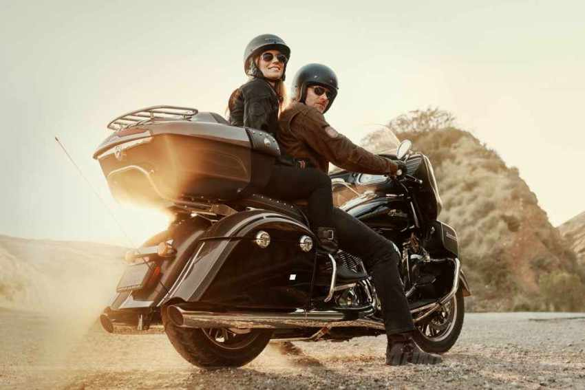 motos custom para viajar