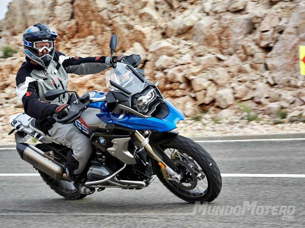 Novedades motos trail BMW R 1200 GS 2018 - Rallye - Exclusive