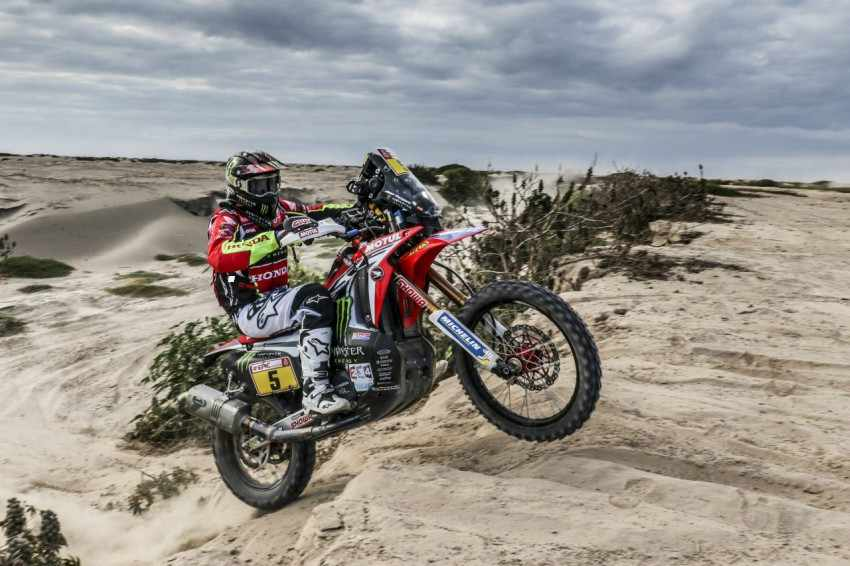 Dakar 2018 Etapa 5 - Victoria con autoridad para Joan Barreda