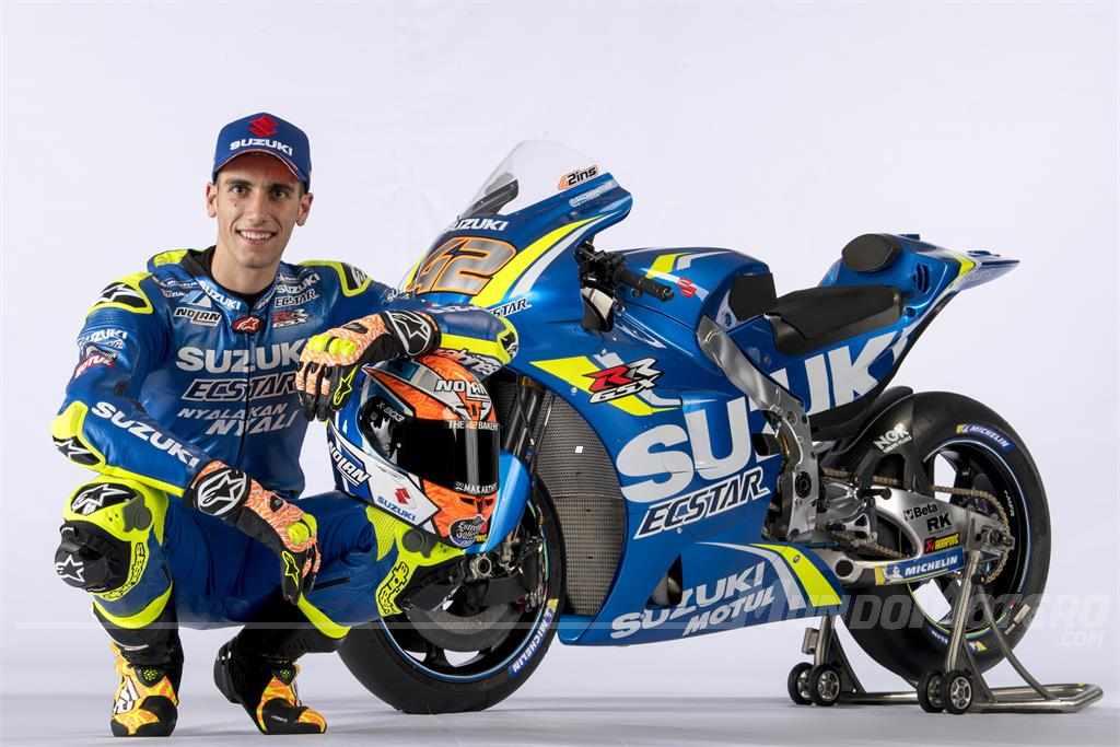 Alex Rins - Suzuki MotoGP 2018