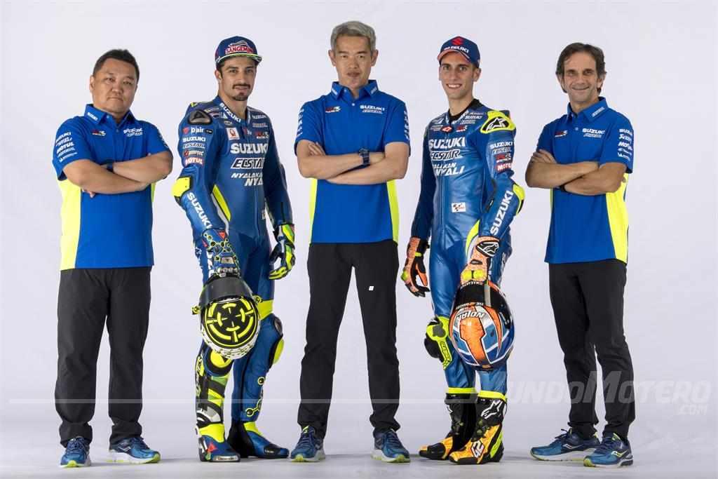 Presentado el equipo Suzuki MotoGP 2018