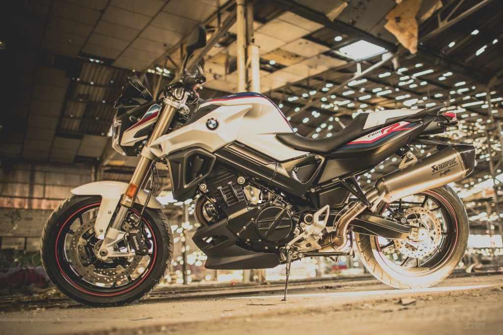 BMW F800R Akrapovic