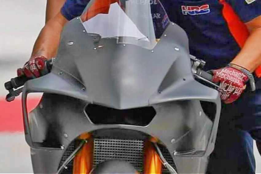 Nuevo carenado para la Honda RC213V