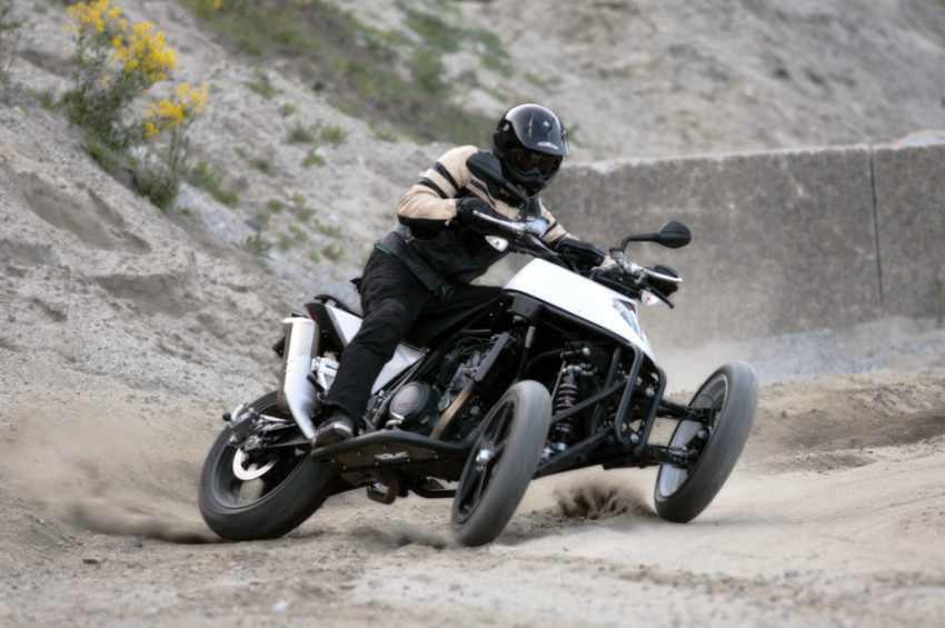 Yamaha compra nuevas patentes de motos de 3 ruedas
