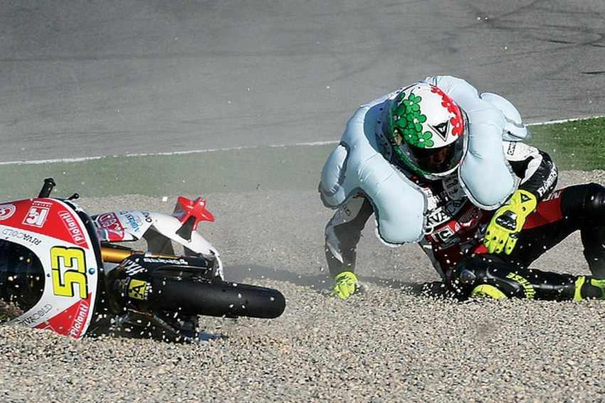 Airbag obligatorio para todos los pilotos de MotoGP a partir de 2018