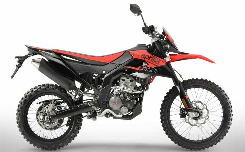Motos Enduro 125cc - Aprilia RX 125 2018