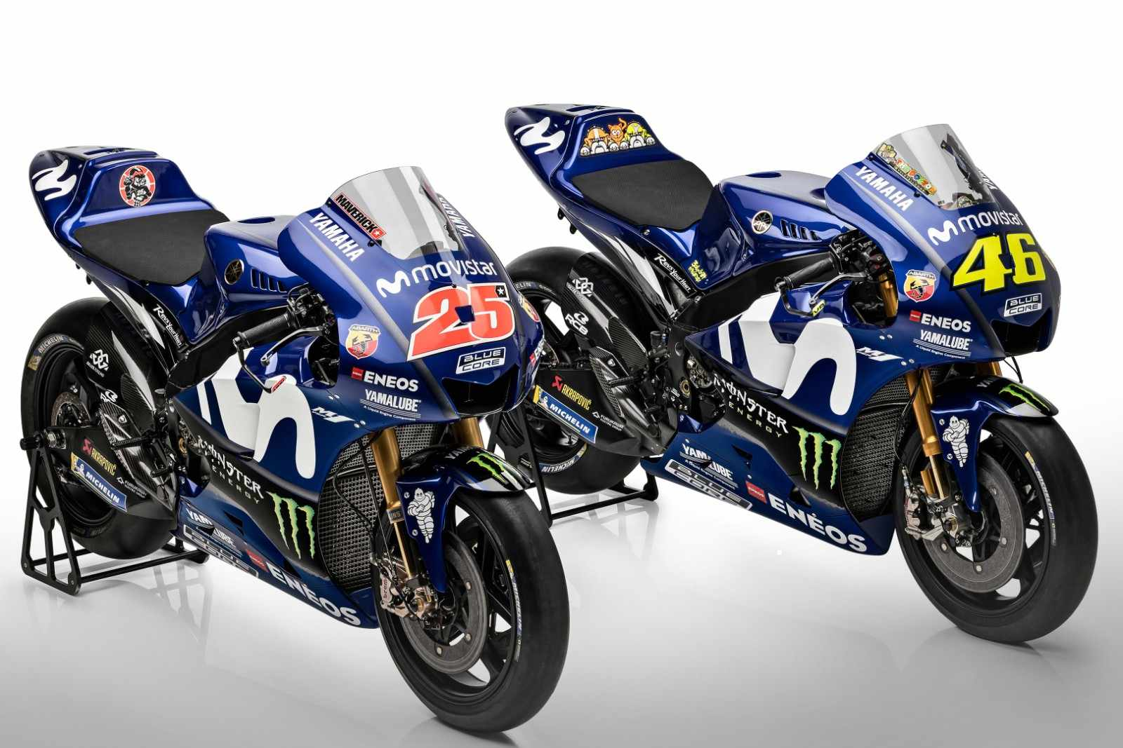 Yamaha M1 2018 - Equipo Yamaha MotoGP 2018