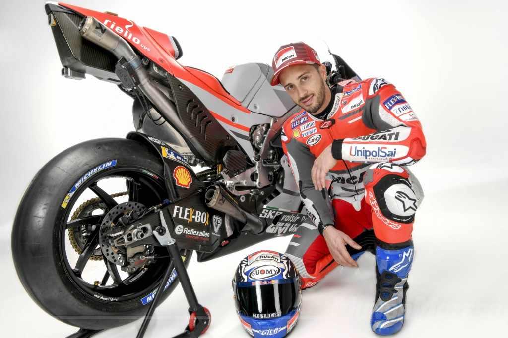 equipo Ducati MotoGP 2018 - Andrea Dovizioso