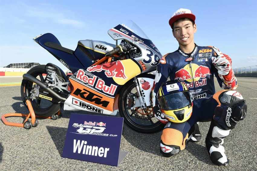 Kazuki Masaki se une al equipo RBA para la temporada de Moto3 2018