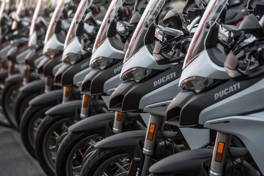 ventas de motos Ducati 2017