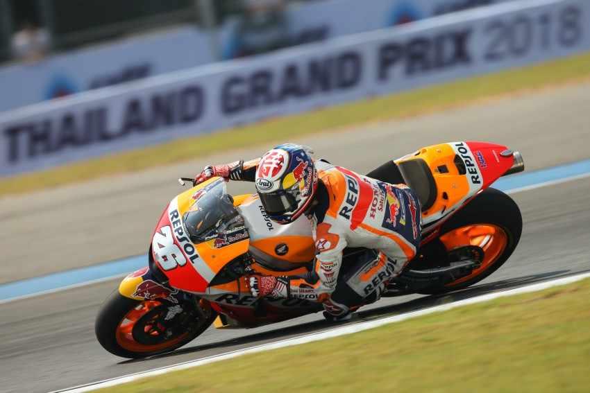 Dani Pedrosa - Test MotoGP Burinam 2018