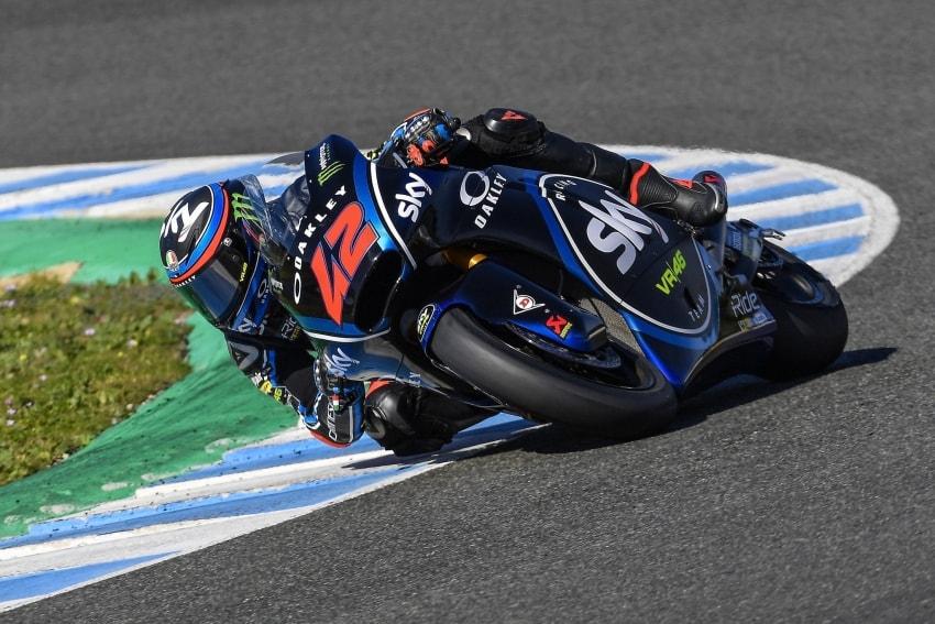 Francesco Bagnaia - Test Jerez Moto2 2018