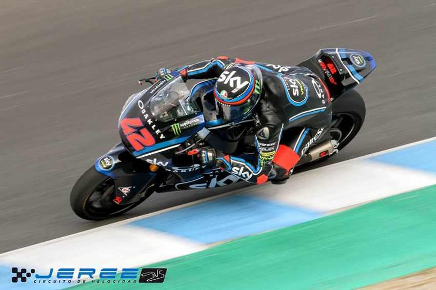 Francesco Bagnaia - Test Moto2 Jerez 2018
