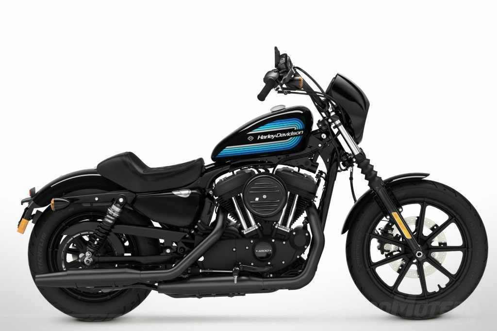 Novedades Motos Harley-Davidson Iron 1200 2018