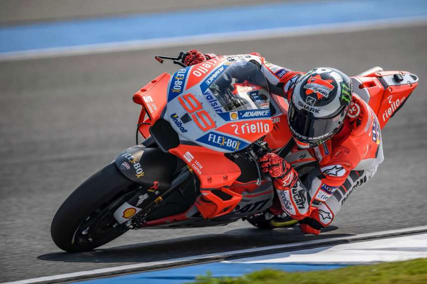 Jorge Lorenzo - MotoGP Buriram Test 2018