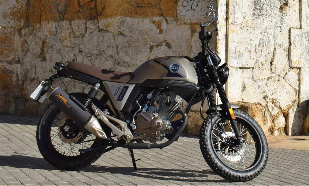 Novedades Motos Cafe Racer MH Revenge 125