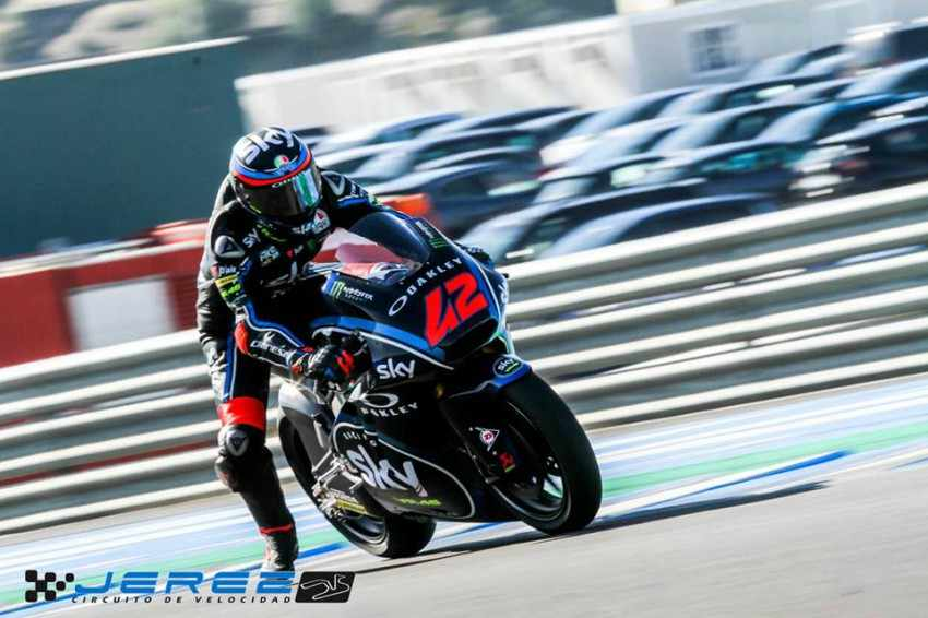 Pecco Bagnaia - Test Moto2 Jerez 2018