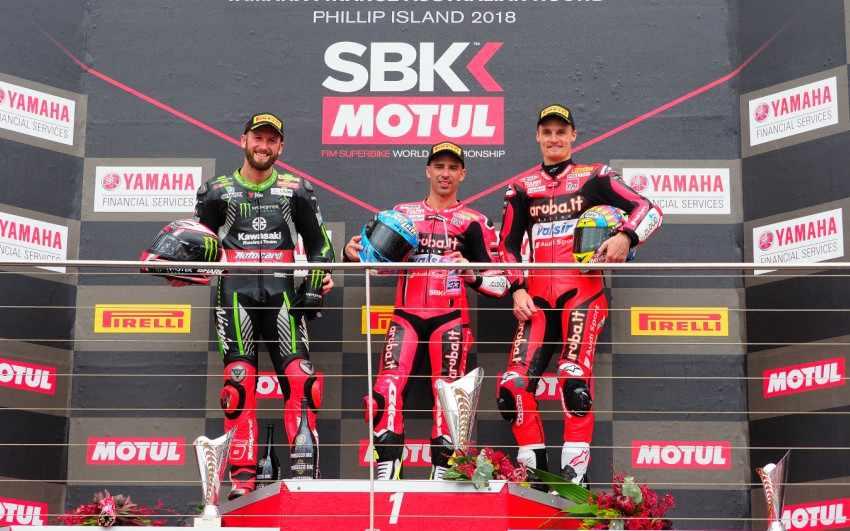 SBK Australia 2018 - Resultados y clasificación carrera 1