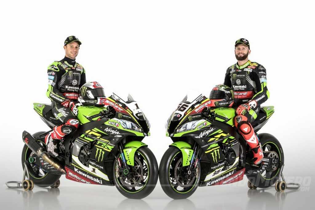 Equipo Kawasaki SBK 2018