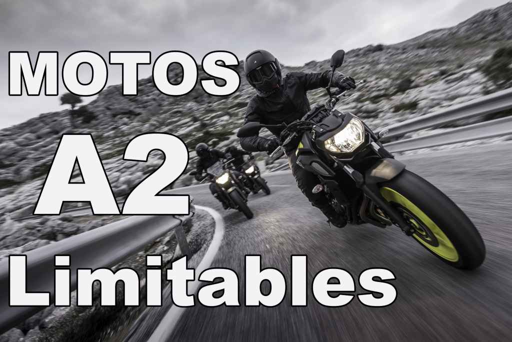 Motos A2 limitables