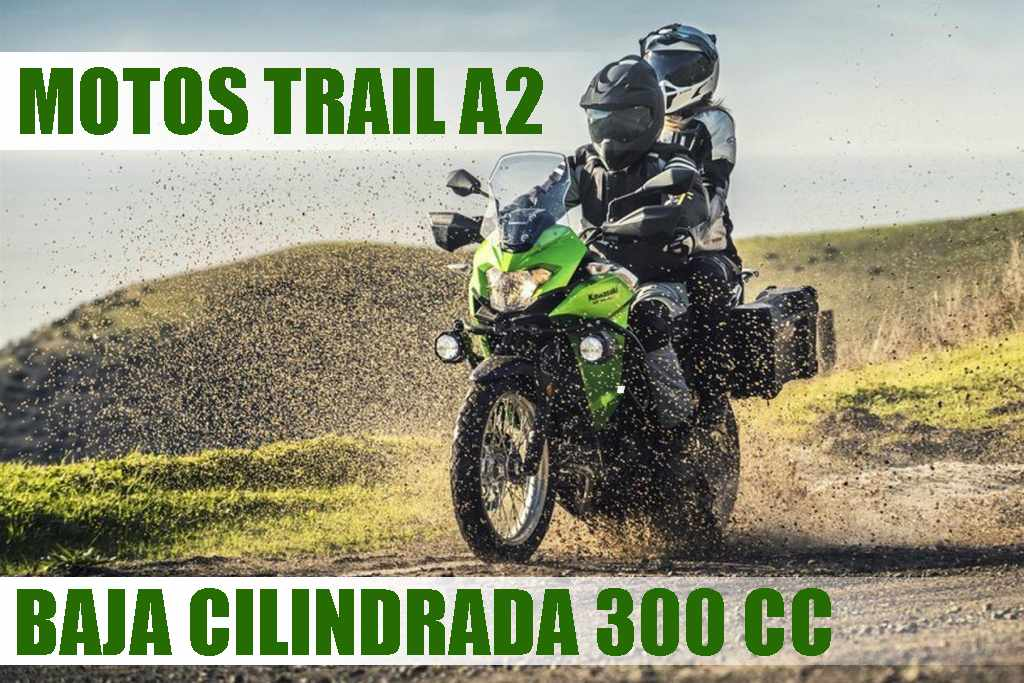 Motos Trail A2 Baja Cilindrada 300cc