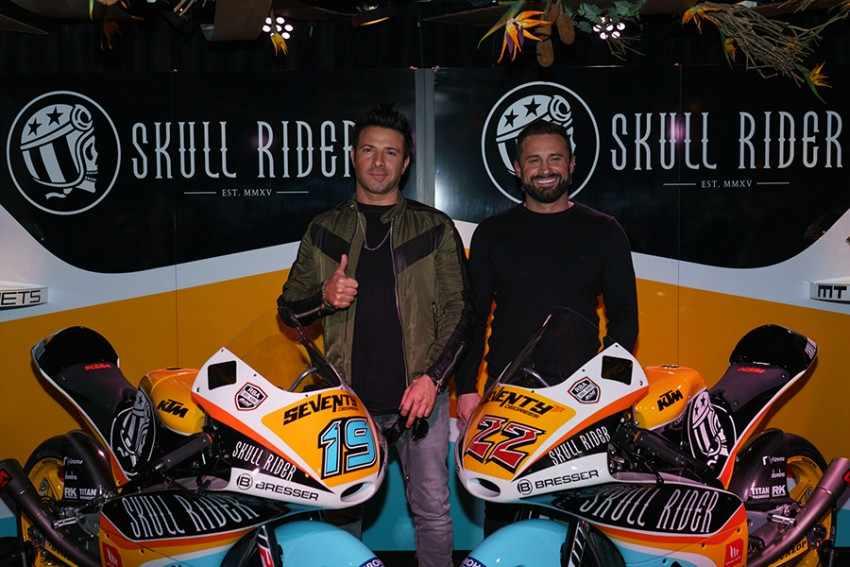 Presentado el equipo RBA BOÉ SKULL RIDER Moto3 2018