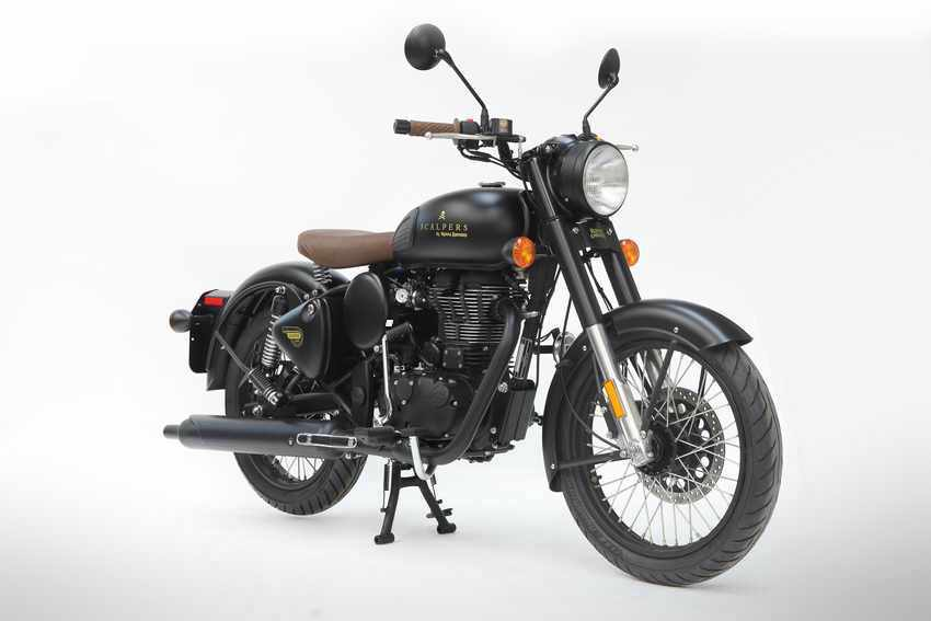 Royal Enfield Classic 500 Scalpers