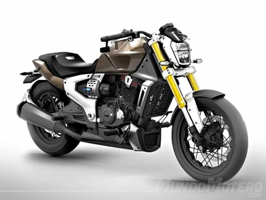 TVS Zeppelin - Una nueva moto híbrida