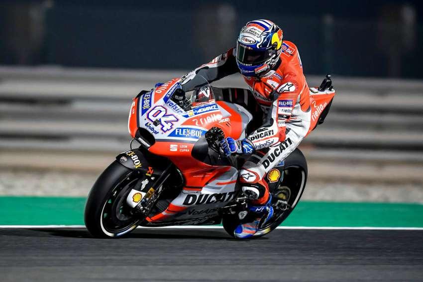 Andrea Dovizioso - MotoGP Qatar 2018
