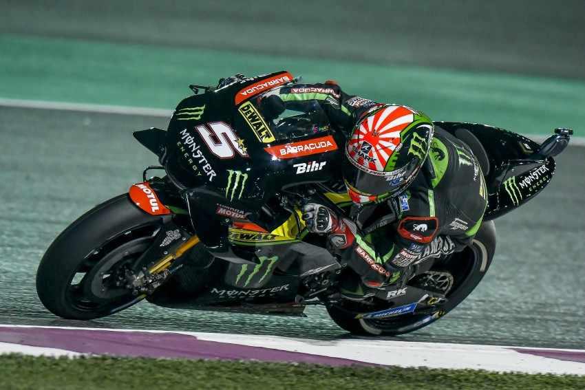 Pole MotoGP Qatar 2018 Johann Zarco Resultados, clasificaciones y parrilla