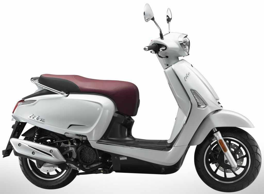 novedades scooters KYMCO Like 125 2018