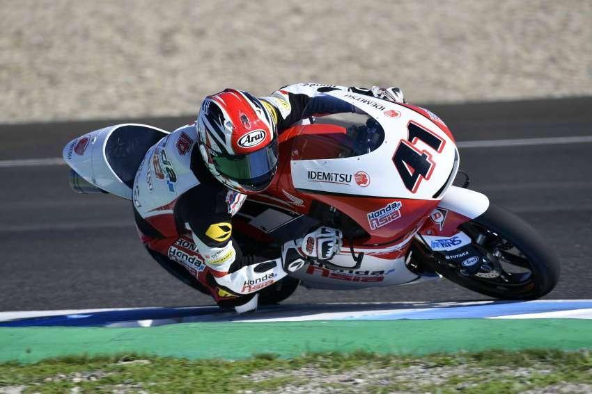 Nakarin Atiratphuvapat - Moto3 Jerez Test2 2018