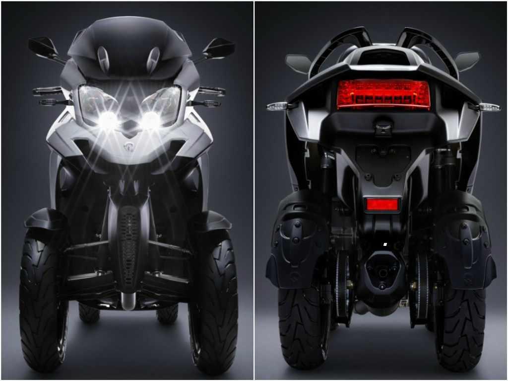 moto de 4 ruedas - Quadro Qooder