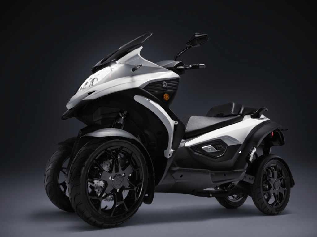 moto 4 ruedas - Quadro Qooder