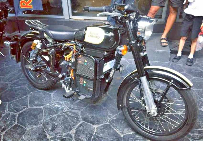 Royal Enfield tendrá una moto electrica en 2020
