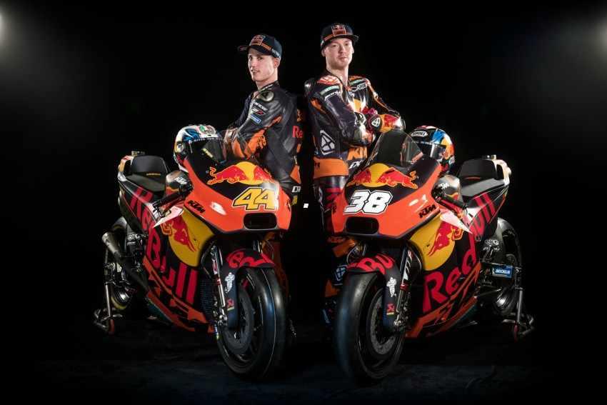 Presentado el equipo KTM MotoGP 2018 con Espargaro y Smith