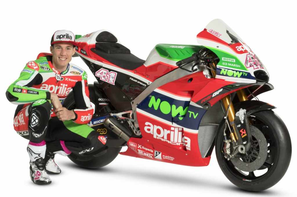 Aleix Espargaró Aprilia MotoGP 2018