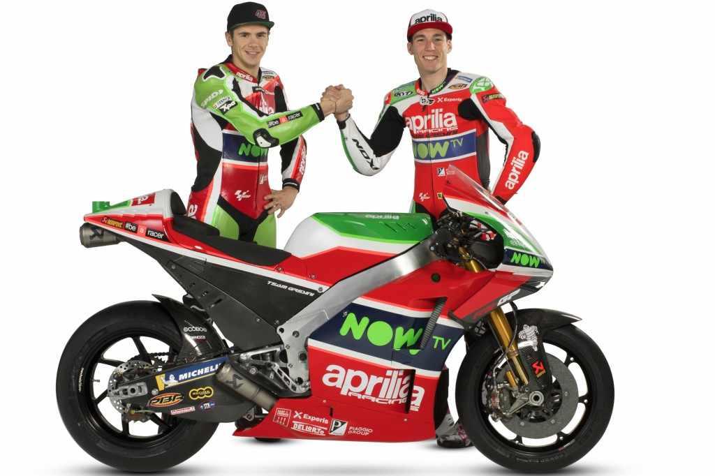 Equipo Aprilia MotoGP 2018