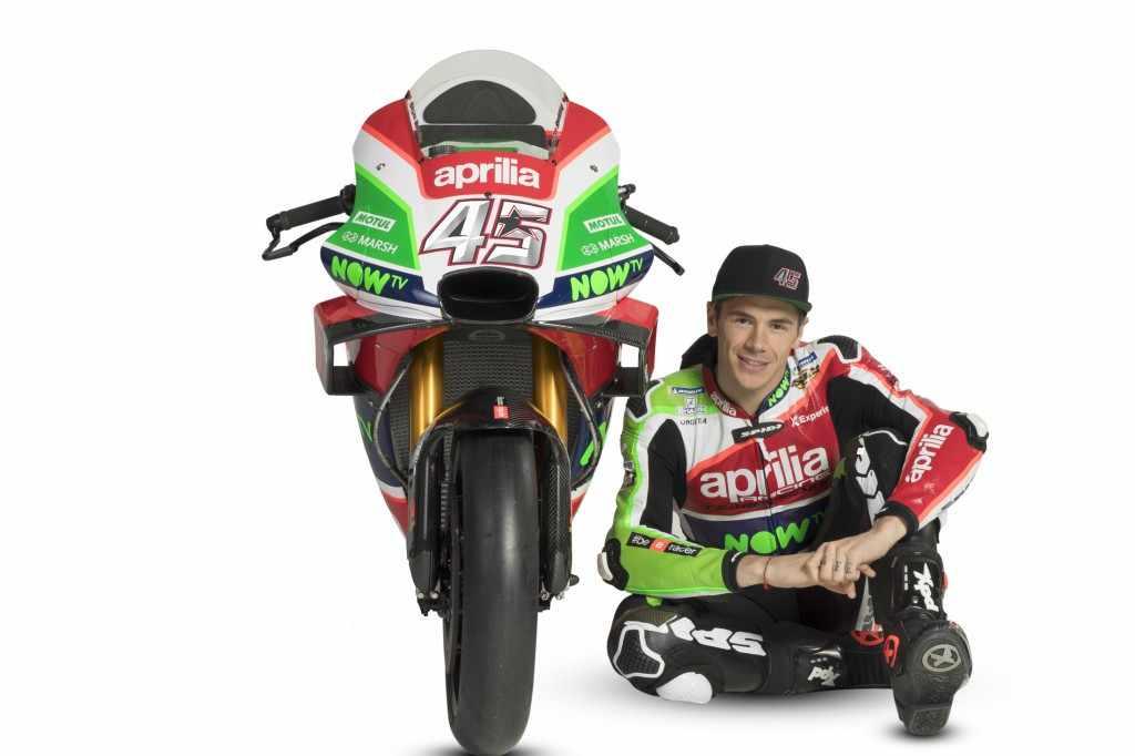 Scott Redding Aprilia MotoGP 2018
