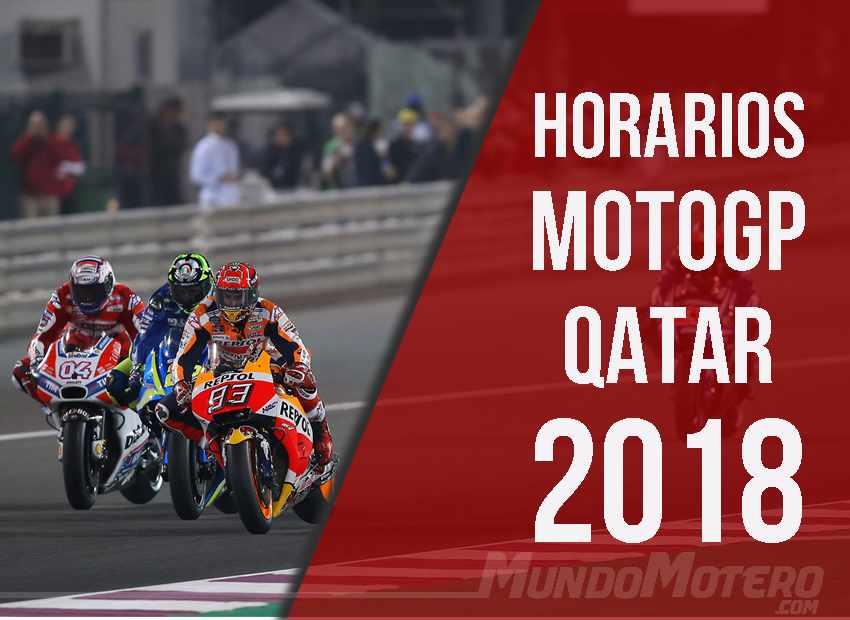 Horarios MotoGP Qatar 2018