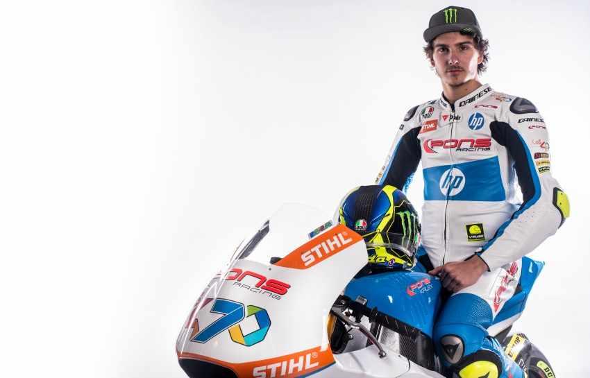 Lorenzo Baldassarri - Pons Racing Moto2 2018