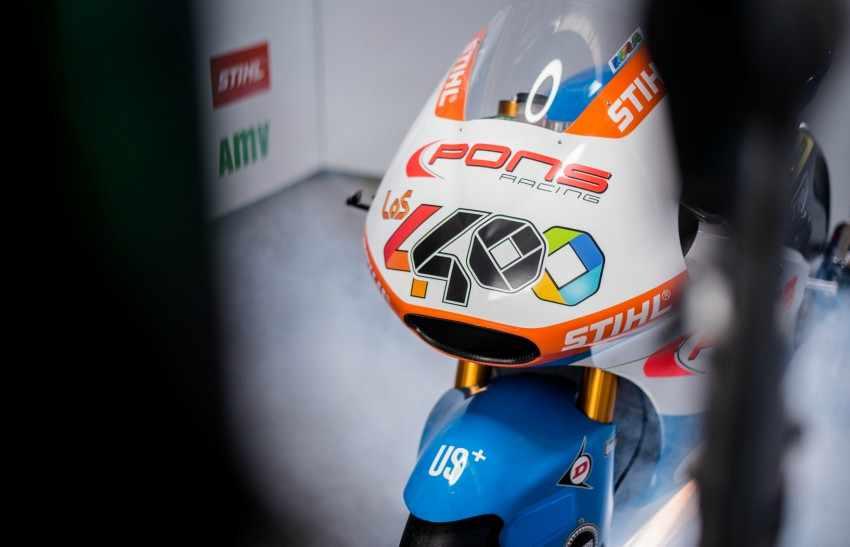 Presentado el equipo Pons HP 40 Moto2 2018